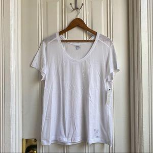 DKNY XO Heart White Short Sleeve T-Shirt